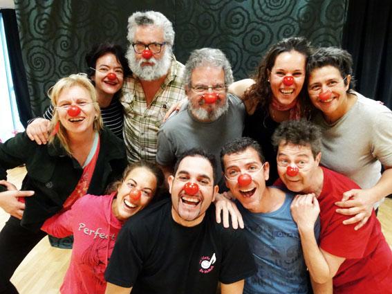 Curso de Iniciación al Clown con Caroline Dream el 8 y 9 de abril 2016 en Zaragoza