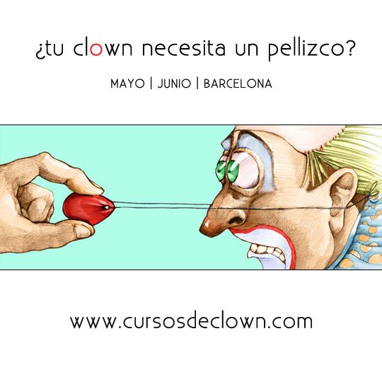 Curso Clown Caroline Dream Barcelona