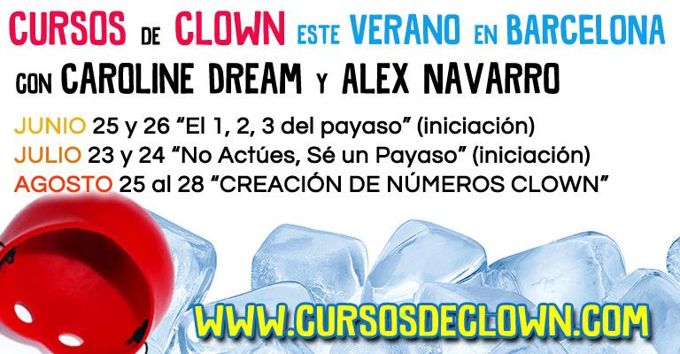 Curso Clown Verano 2016 Barcelona