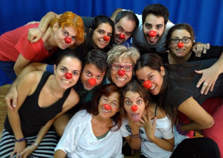 Curso de Iniciación al Clown ¿Dónde está la gracia? por Caroline Dream en Barcelona