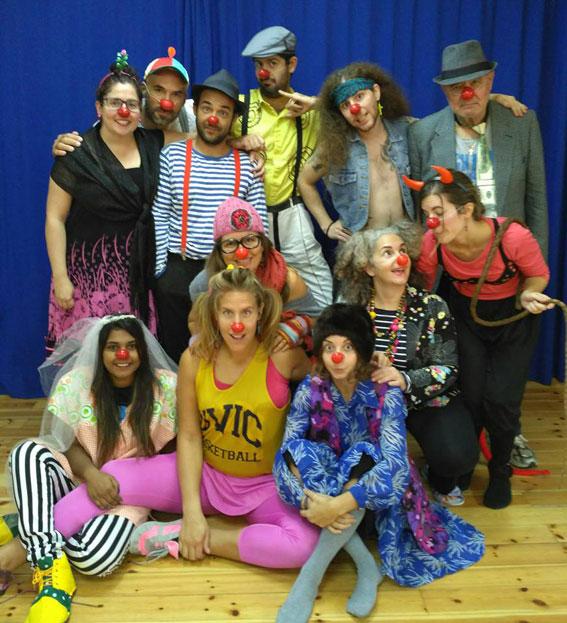 Curso de Clown Pura Vida con Caroline Dream en Barcelona