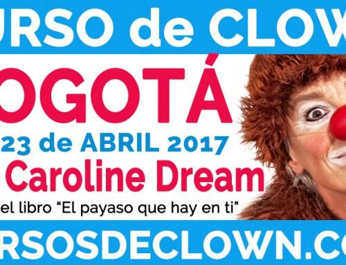 """CLOWN INTERMEDIO """"CREATIVIDAD CLOWNESCA""""BOGOTÁ (COLOMBIA) 22 y 23 de ABRIL 2017"""