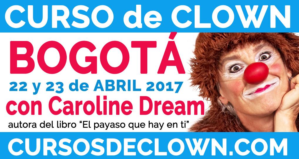Curso de Clown en Bogotá, Colombia, con Caroline Dream