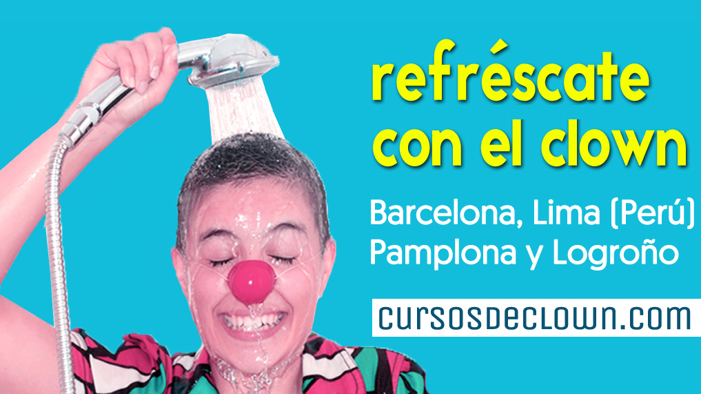 Refréscate con tu clown