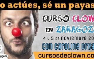 Curso Clown en Zaragoza 4 y 5 de noviembre 2017