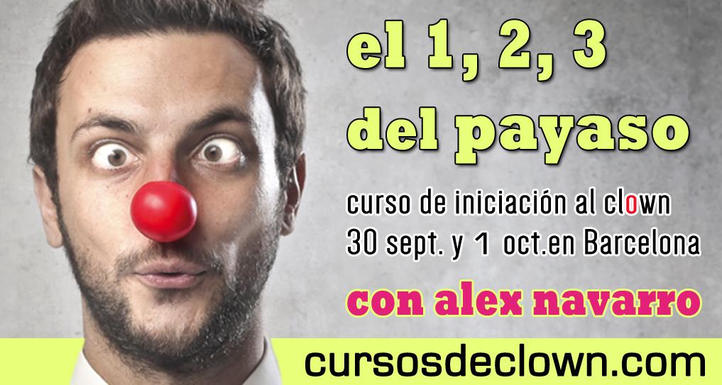 Curso de Iniciacion al clown en Barcelona Septiembre Octubre 2017