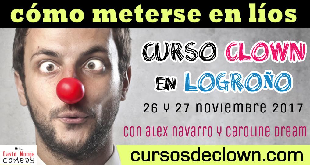 Curso de Clown en Logroño noviembre 2017