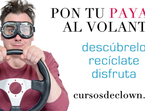 """CURSO DE CLOWN """"El 1, 2, 3 del payaso""""con Alex NavarroBARCELONA 25 y 26 MAYO 2019"""