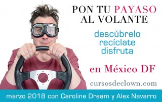 Curso de Clown marzo 2018 en mexico df