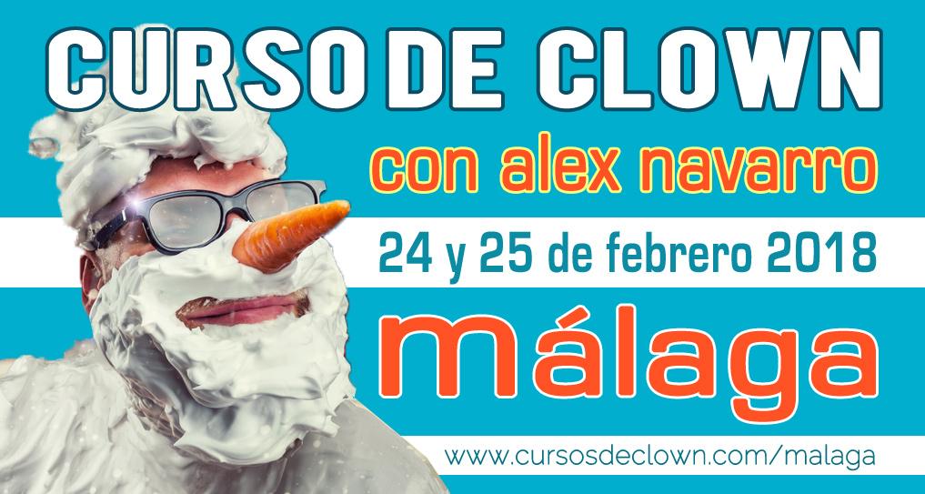 Curso de Clown en Málaga con Alex Navarro