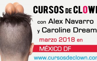 cursos de clown Mexico DF 2018