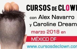 cursos de clown Mexico DF 2018