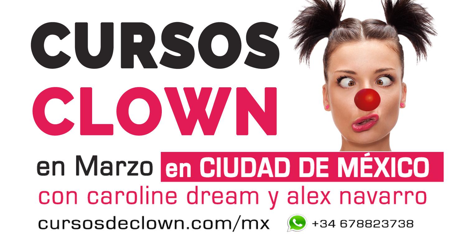Cursos de Clown en Ciudad de México por Caroline Dream y Alex Navarro