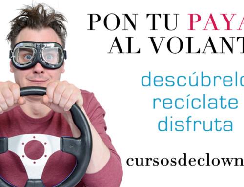 """CURSO DE  CLOWN """"No actúes, sé un payaso"""" con Alex NavarroBARCELONA 19 y 20 de ENERO 2019"""