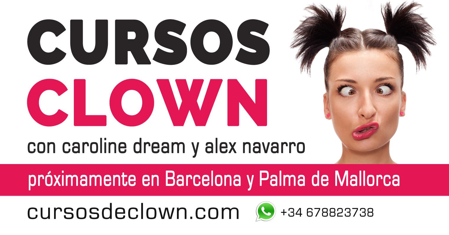 Cursos de Clown en Barcelona y Palma de Mallorca