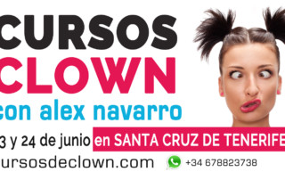 Curso de Clown en Santa Cruz de Tenerife en junio 2018