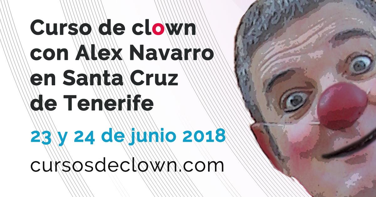 Curso de clown en Santa Cruz de Tenerife con Alex Navarro