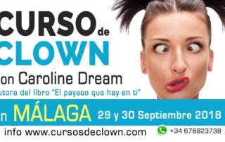 Curso de Clown en Málaga por Caroline Dream