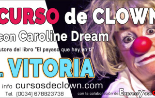 Curso de Clown con Caroline Dream en Vitoria