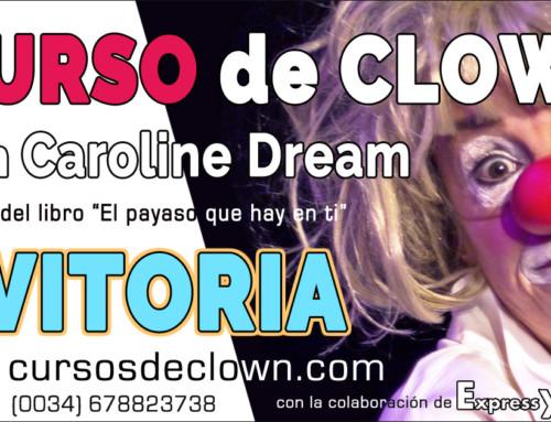 """CURSO DE CLOWN """"Juegos de Poder"""" con Caroline DreamVITORIA 24 y 25 de NOVIEMBRE 2018(es necesario alguna experiencia, mínimo un curso de clown previo)"""
