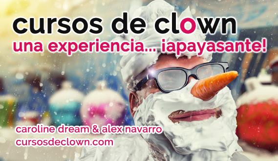 Cursos de Clown 2019 con Alex Navarro y Caroline Dream