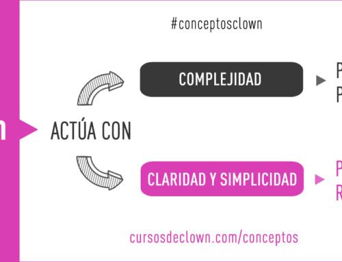 #conceptosclown | CLARIDAD Y SIMPLICIDAD