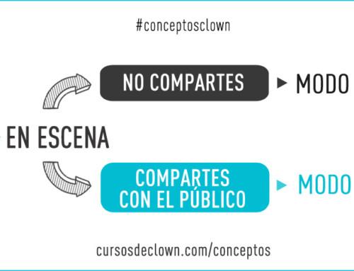 #conceptosclown | EL MODO PAYASO REQUIERE MIRAR, VER Y COMPARTIR.
