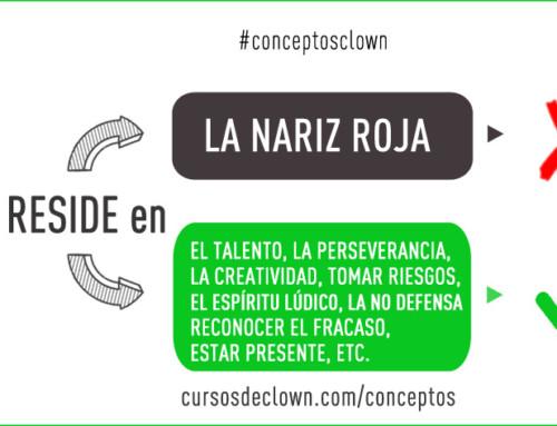 #conceptosclown | LA NARIZ NO HACE AL PAYASO
