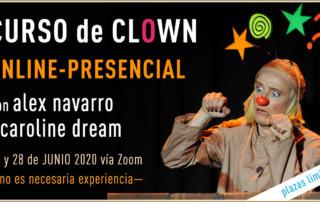 Curso de Clown Online Presencial con Alex Navarro y Caroline Dream
