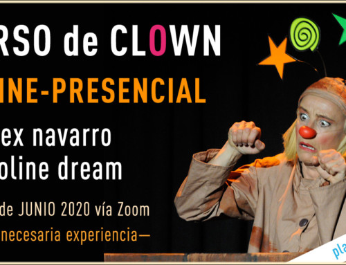 "CURSO DE CLOWN ONLINE ""Sé payas@""con Caroline Dream y Alex Navarro27 y 28 de junio 2020"