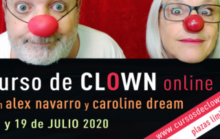 Curso de Clown Online-Presencial 18 y 19 de Julio 2020